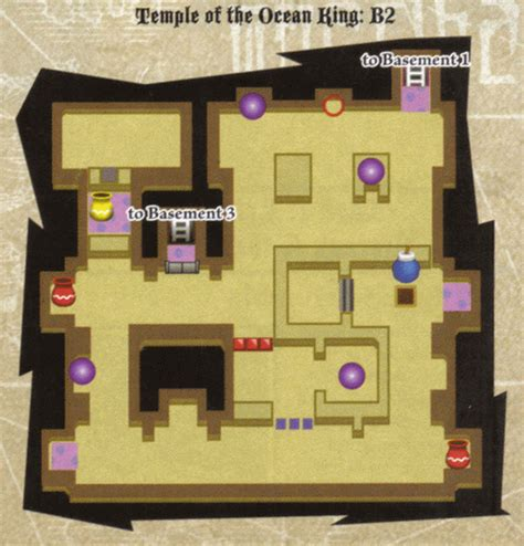 Phantom Hourglass Oceaan King Floor 8 Chest by Phantom Hourglass Walkthrough Temple Of Courage