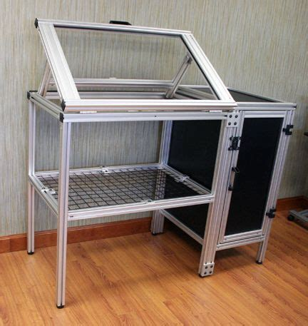 This Work Station Can Either Have A Flat Surface Or Drafting Table Surface