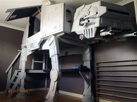 at at bed 20 cool star wars themed bedroom ideas housely