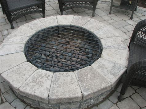 Firepit With Grill Built In Grill Bar Firetable Pit And Other Kits