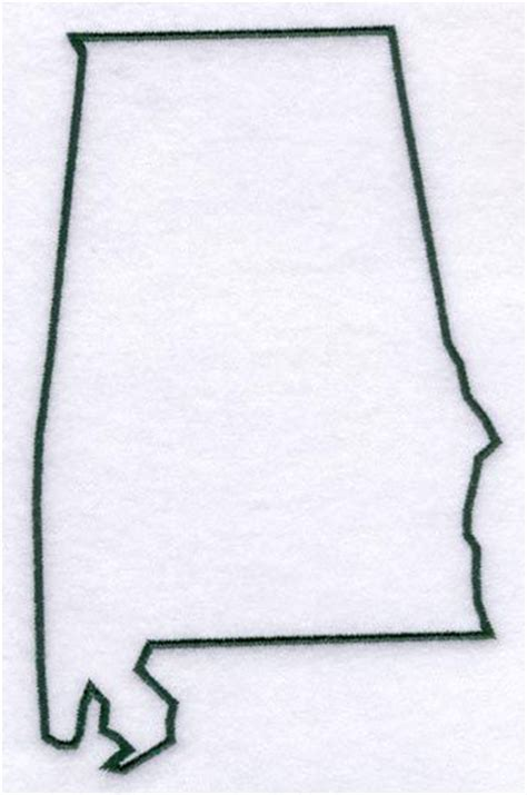 state outline tattoo state of alabama template the outline of the state of