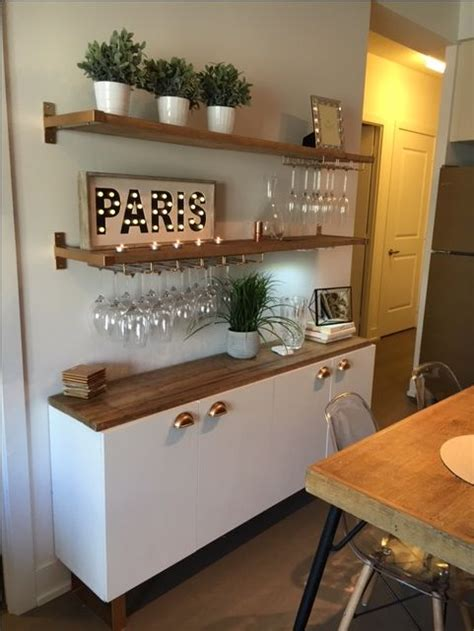 kitchen bar table ideas 25 best ideas about dining room shelves on