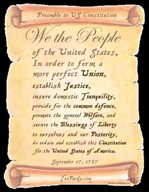 printable preamble us constitution preamble to the u s constitution patriotic pinterest