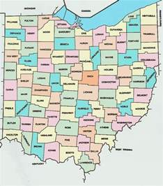 County Map Ohio by Gallery For Gt Ohio County Map