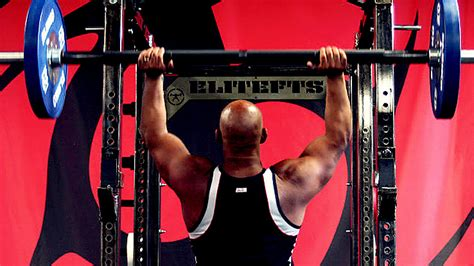 overhead bench press nailing the overhead press t nation