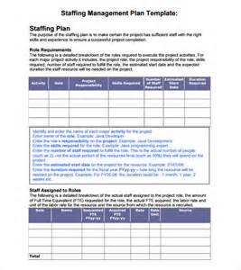 Staffing Plans Template by Staffing Plan Template Plan Template
