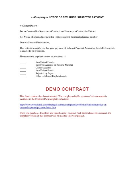 Invoice Rejection Letter Invoice Rejection Letter Invoice Template Ideas