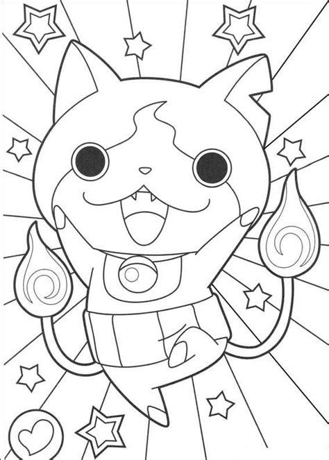 youkai watch coloring sheets kids n fun com coloring page youkai yokai watch jibanyan