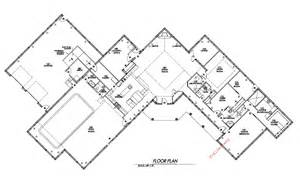 home building floor plans metal building home w inside pool hq plans