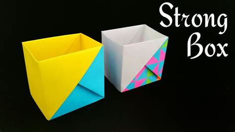 How To Make A Box From A4 Paper - best 20 a4 paper ideas on simple origami