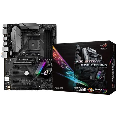 Asus Rog Strix B350 F Gaming Am4 Aura Sync For Amd Ryzen Am4 asus rog strix b350 f gaming avertek