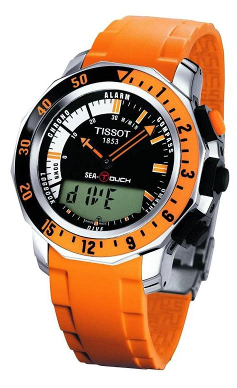 tissot dive watches tissot sea touch diving officially announced