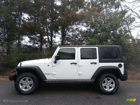white jeep wrangler unlimited 2015 bright white jeep wrangler unlimited sport 4x4