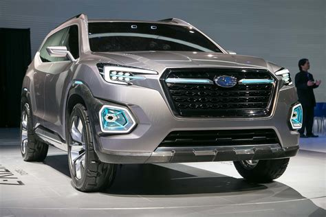Subaru Viziv 7 Suv Concept Look Review