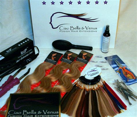 hair extension kit design kit 3 pack wave fusion hair extensions kits