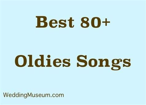 83 Best Oldies Songs for Weddings, 2018   Wedding   Best