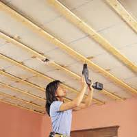 Fixing Plasterboard To Ceiling Joists fix a sagging plasterboard ceiling reader s digest