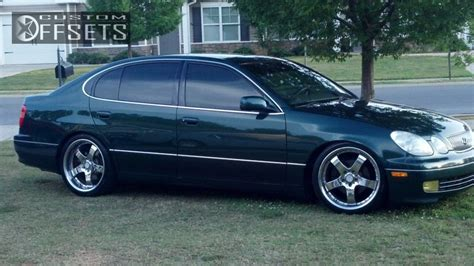 Lexus Gs300 Rims by Wheel Offset 1998 Lexus Gs300 Tucked Dropped 3 Custom Rims