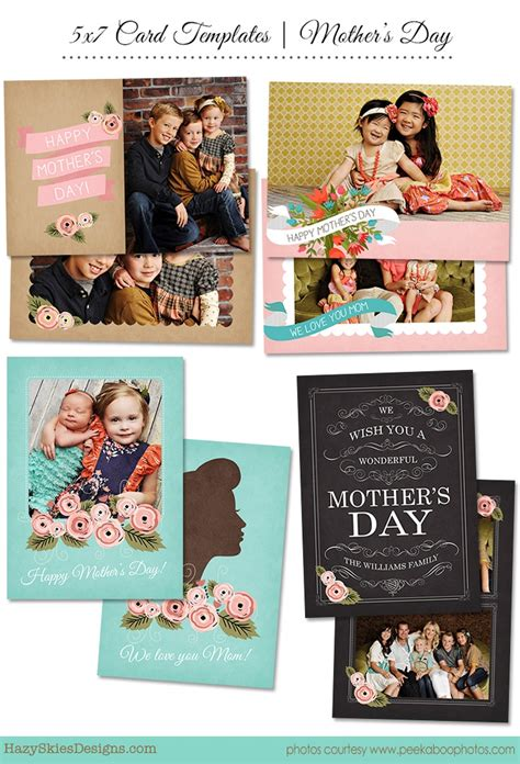photoshop card templates for photographers s day card photoshop template for photographers