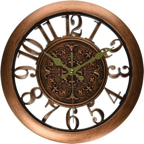 home decor clock wall clock home decor retro large numbers design office