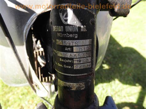 Motorradteile Ts by Zweirad Union 159 Ts Motorradteile Bielefeld De