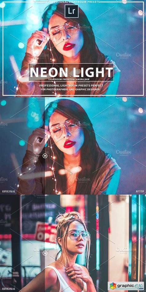 light lightroom presets neon light lightroom presets 187 free vector stock