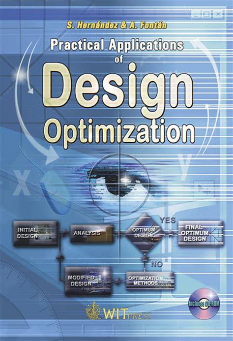 design optimization journal practical applications of design optimization