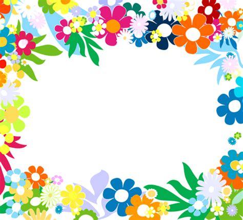 cornici floreali da stare vector of fresh flower frame set 02 vector flower