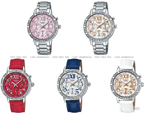Casio Sheen She 3036l 7a Silver Blue Casio She 3036d She 3036l Sheen Multi End 8 6 2018 4 39 Pm