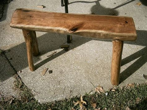 half log bench 30 quot one of a kind pa wild cherry half log bench live edge