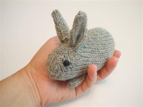 bunny knitting pattern free bunny knit along uncommon threads