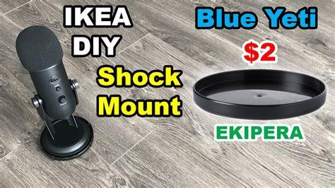 Blue Yeti Desk Stand by Blue Yeti Diy Shock Mount Diy Make