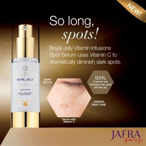Serum Royal Jelly Jafra rediscover even toned skin with this potent royal jelly serum ask me for details http jafra