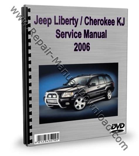 car service manuals pdf 2002 jeep wrangler instrument cluster jeep liberty cherokee kj 2006 service repair manual download down