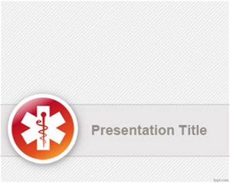 needle powerpoint template background in medical healthcare