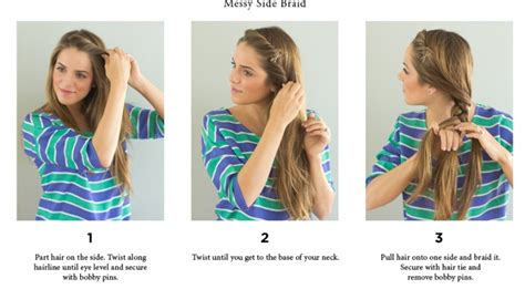 hairstyles for back to school step by step step by step easy hairstyles instruction for long medium