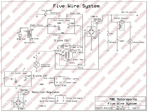 wiring diagram for tao 110cc 4 wheeler wiring free