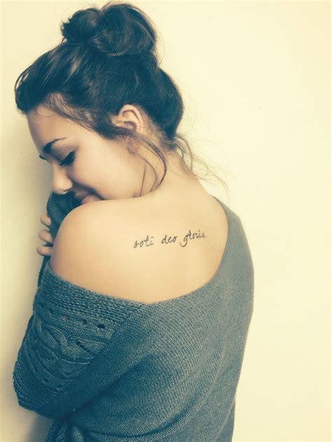 soli deo gloria tattoo pin by kourtney davison on artsy