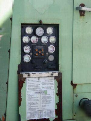 sullair   portable air compressor  cfm