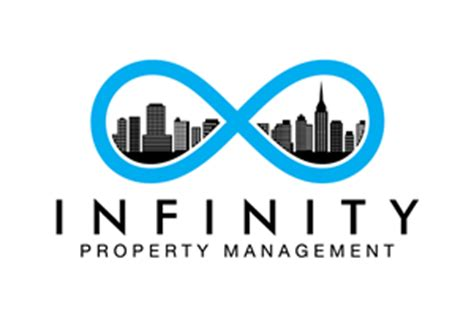 infinity property management property management logo design galleries for inspiration