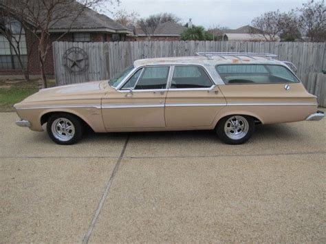 plymouth fury  passenger wagon golden commando