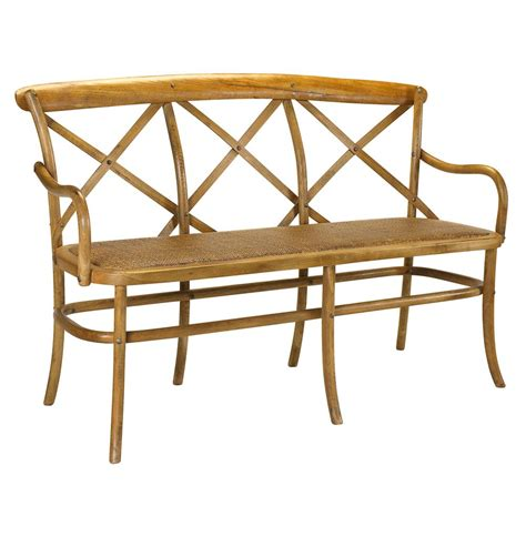 french dining bench kasson french country light oak wood seat dining bench