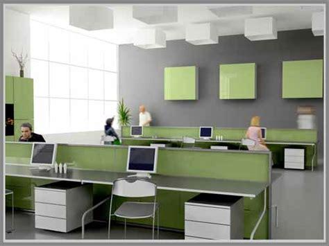 layout perkantoran modern efek warna dalam interior ruang kerja kantor