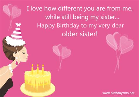 Happy Birthday Sis Quotes Older Sister Quotes Quotesgram