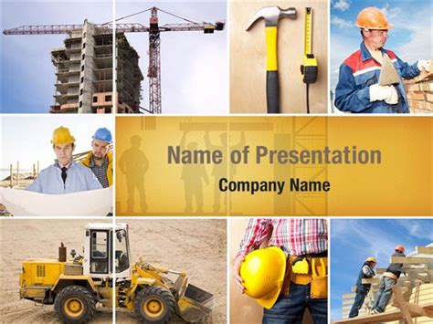 Industrial Collage Powerpoint Templates Industrial Powerpoint Photo Collage Template