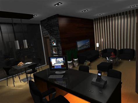 gambar desain interior ruang kerja direktur nyaman idenahrumah