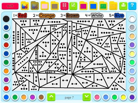 printable math games 4th grade 6th grade coloring worksheets screenshot 2 of math