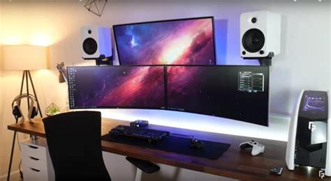 random frank p desk setup cool workspaces