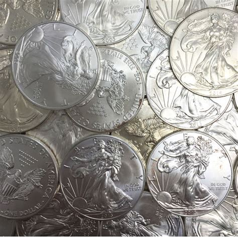 1 Oz American Silver Eagle Coin Varied Year Cull Damaged - buy silver american eagles varied year cull silver