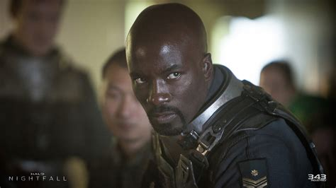 mike colter agent locke halo nightfall s lead character revealed introducing